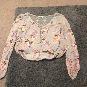 Cropped shirt
